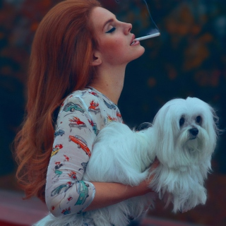 Lana Del Rey National Anthem - Obrázkek zdarma pro iPad Air
