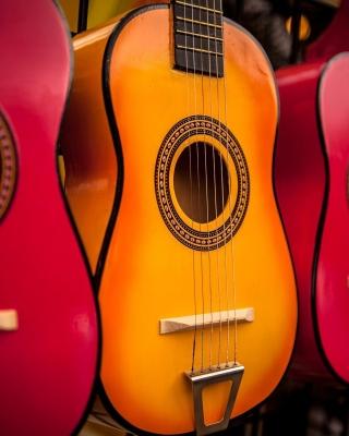 Multi Colored Guitars - Obrázkek zdarma pro Nokia Lumia 620