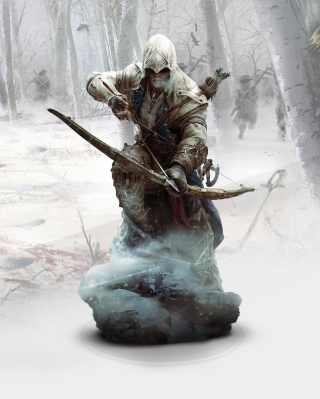 Ratonhnhaketon Assassins Creed - Obrázkek zdarma pro Nokia Asha 503