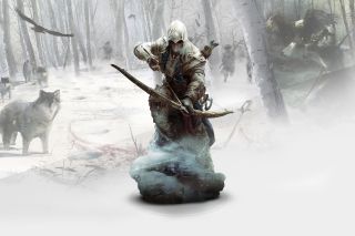 Ratonhnhaketon Assassins Creed - Obrázkek zdarma pro Samsung I9080 Galaxy Grand