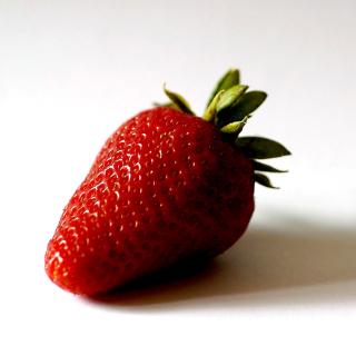 Strawberry 3D Wallpaper - Obrázkek zdarma pro iPad 2