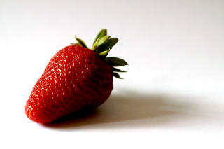 Strawberry 3D Wallpaper Background for Android, iPhone and iPad