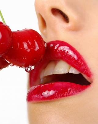 Cherry and Red Lips - Obrázkek zdarma pro Nokia Lumia 2520