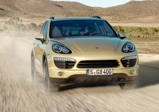 Porsche Cayenne Background for Android, iPhone and iPad
