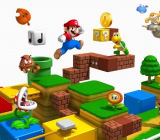 Super Mario - Obrázkek zdarma pro iPad Air