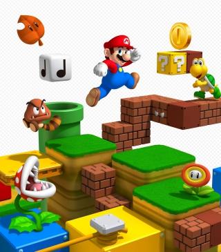 Super Mario - Obrázkek zdarma pro Nokia Asha 308