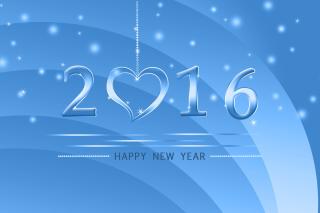Happy New Year 2016 sfondi gratuiti per cellulari Android, iPhone, iPad e desktop