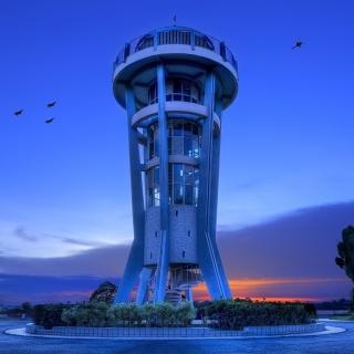 Hi Tech Tower - Obrázkek zdarma pro 128x128