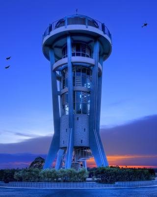 Hi Tech Tower - Obrázkek zdarma pro 240x400