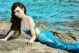 Leah Dizon Mermaid Picture for Android, iPhone and iPad