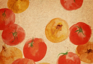 Free Vegetable Abstract Picture for Android, iPhone and iPad