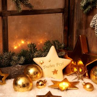 Happy Holidays - Obrázkek zdarma pro iPad Air