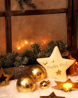 Happy Holidays - Obrázkek zdarma pro 240x432
