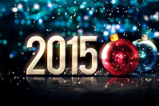 Happy New Year Balls 2015 Picture for Android, iPhone and iPad