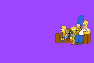 The Simpsons Family - Obrázkek zdarma pro Google Nexus 5