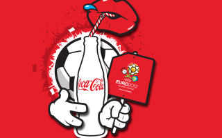 Coca Cola & Euro 2012 full hd Background for Android, iPhone and iPad