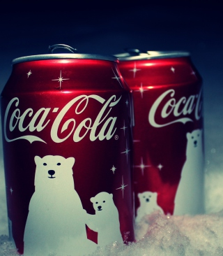 Christmas Coca-Cola - Obrázkek zdarma pro Nokia X6