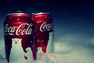 Free Christmas Coca-Cola Picture for Android, iPhone and iPad