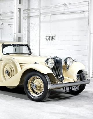 Jaguar Classic Car - Obrázkek zdarma pro 640x960