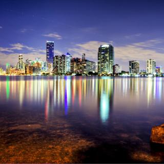 Miami, Florida Houses - Obrázkek zdarma pro 208x208