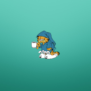 Garfield's Monday Morning - Obrázkek zdarma pro iPad 3