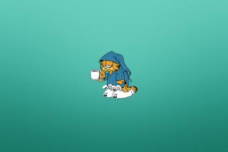 Garfield's Monday Morning - Obrázkek zdarma pro 176x144
