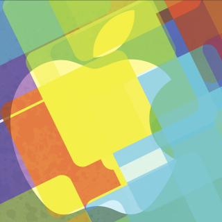 Macbook Logo - Obrázkek zdarma pro iPad
