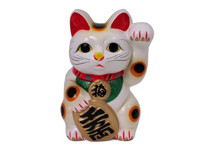 Maneki Neko Lucky Cat wallpaper