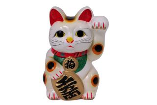 Maneki Neko Lucky Cat - Obrázkek zdarma pro Desktop Netbook 1366x768 HD