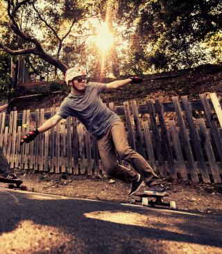 Skateboarding - Obrázkek zdarma pro 176x220