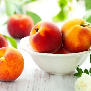 Nectarines and Peaches - Obrázkek zdarma pro iPad Air