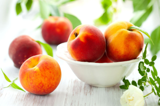 Nectarines and Peaches Picture for Android, iPhone and iPad