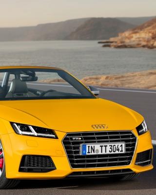 Audi TTS TT Roadster 2014 - Obrázkek zdarma pro iPhone 3G