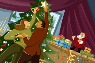 Christmas Means Family Background for Android, iPhone and iPad