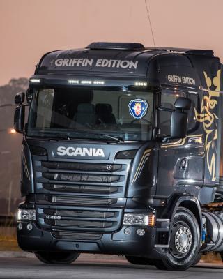 Scania R480 Truck - Obrázkek zdarma pro Nokia Asha 202