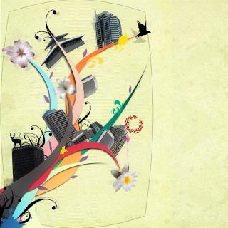 City Clipart - Obrázkek zdarma pro 1024x1024