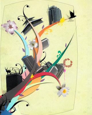 City Clipart - Obrázkek zdarma pro Nokia 206 Asha