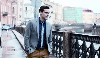 Well Dressed Male Model Wallpaper for Android, iPhone and iPad