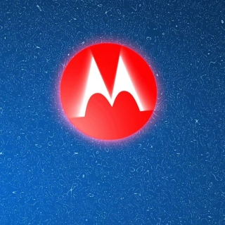 Motorola Logo - Obrázkek zdarma pro iPad