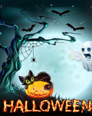Halloween Night - Obrázkek zdarma pro Nokia 206 Asha