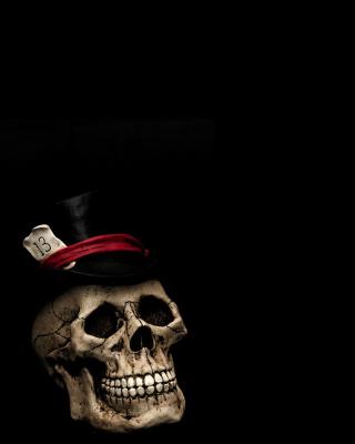 Lucky Skull - Obrázkek zdarma pro 128x160