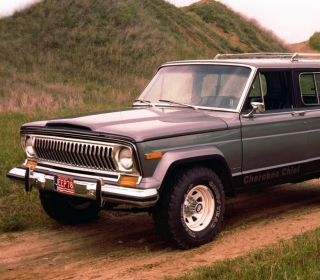 1976 Jeep Cherokee - Obrázkek zdarma pro 1024x1024