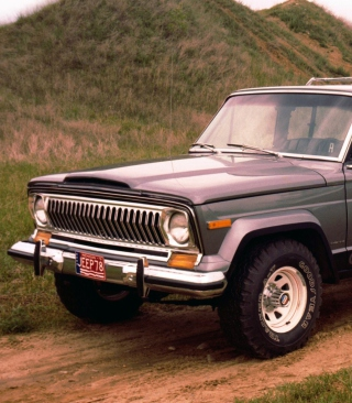 1976 Jeep Cherokee - Obrázkek zdarma pro 480x640