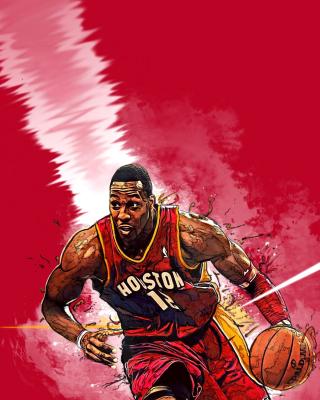 Dwight Howard, Houston Rockets - Obrázkek zdarma pro Nokia Asha 306
