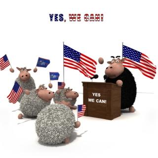 Yes We Can - Obrázkek zdarma pro 208x208