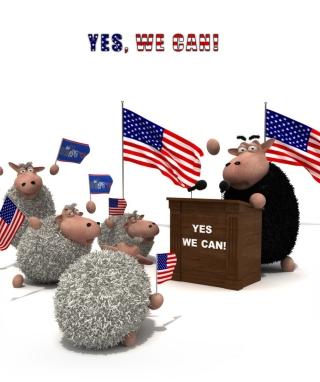 Yes We Can - Obrázkek zdarma pro 320x480
