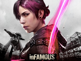 InFAMOUS First Light Picture for Android, iPhone and iPad