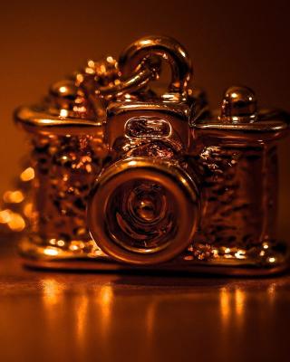 Vintage Golden Camera - Obrázkek zdarma pro Nokia Lumia 505