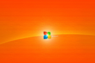Windows 8 Orange Wallpaper for Android, iPhone and iPad