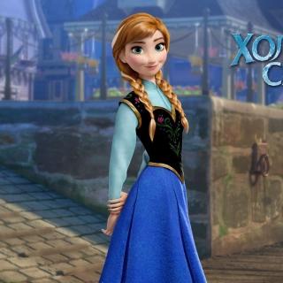 Frozen Disney Cartoon 2013 - Obrázkek zdarma pro 128x128